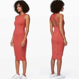 Lululemon Picnic Play Dress Brick Rose
